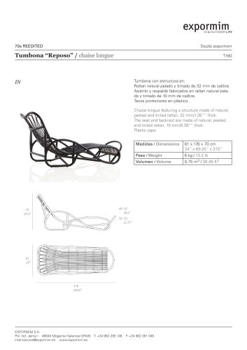 IN:Reposo Chaise longue