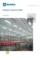 Rockfon® Industrial™ Baffle