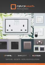 Retrotouch Switches and Sockets 2016 Catalogue