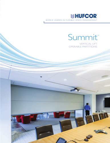 Summit 645V Vertical Lift Partition Brochure