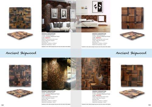Ancient Shipwood Panel