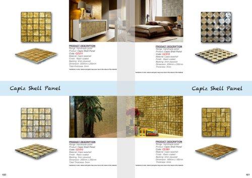 Capiz Shell & Rivershell Panel