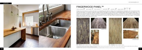 Fingerwood Panel