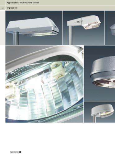 Apparecchi di illuminazione tecnici
