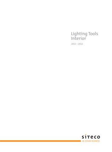 Lighting Tools Interior 2011/2012