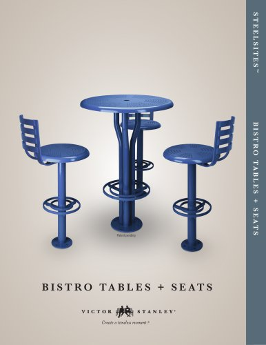 Bistro Tables + Seats