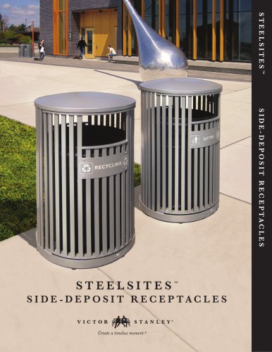 Steelsites - Side Deposit Receptacle
