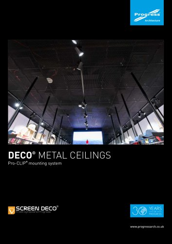 DECO® METAL CEILINGS