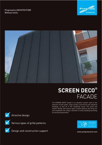 SCREEN DECO facade