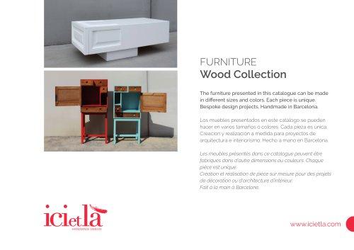 ICI ET LÀ - Mobili in legno