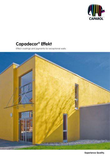 Brochure Capadecor Effekt