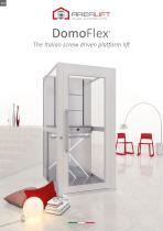 DomoFlex - The Italian screw driven platform lift
