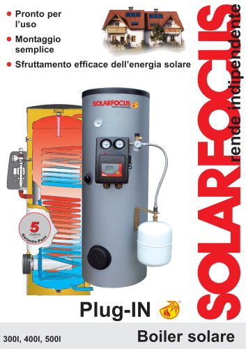 Boiler solare Plug-IN