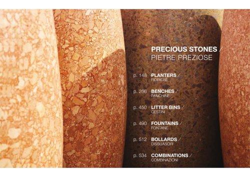 PRECIOUS STONES / FOUNTAINS