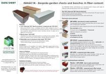 IMAGE'IN Garden Chest - Bench Data Sheet