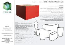SAS Jardinières Steelab Aluminium Soudé
