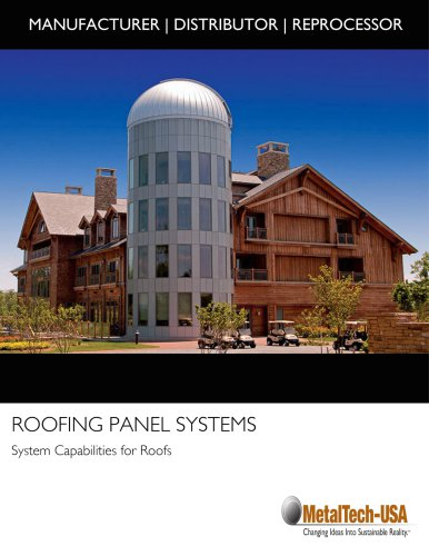 ROOFING PANEL SYSTEMS