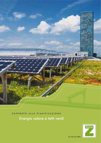 Energia solare e tetti verdi