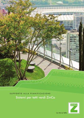 Sistemi per tetti verdi ZinCo