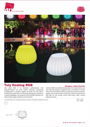 TULY FLOATING RGB