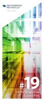 Global colour chart - Aluminium composite panels and pre-painted sheets