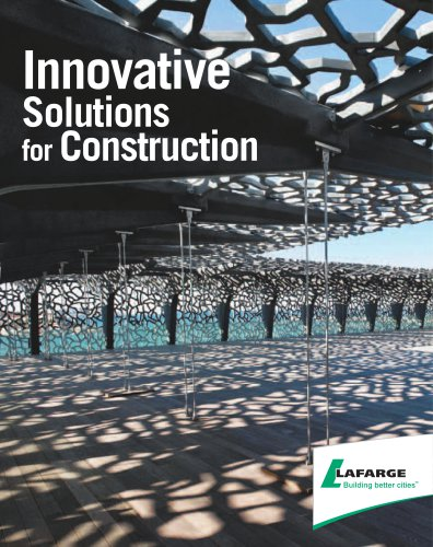 Innovative solutions for construction
