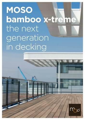 Bamboo X-treme - Decking da esterno