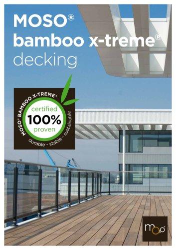 MOSO® bamboo x-treme® decking