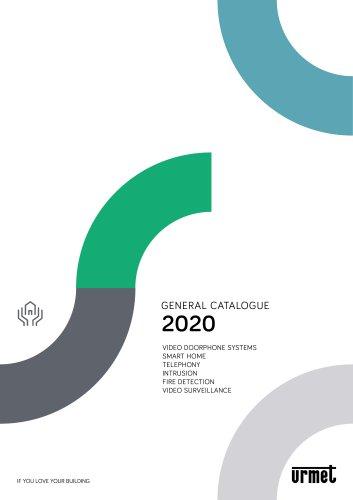 GENERAL CATALOGUE 2020