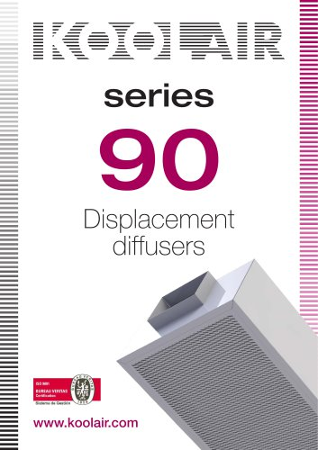 Displacement diffusers – Series S-90