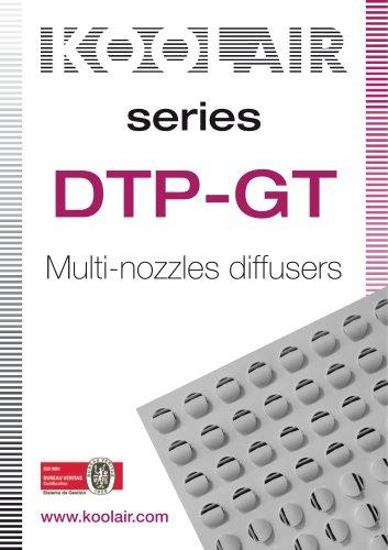 DTP-GT Multi-nozzles diffusers