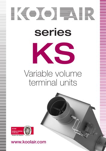 Variable volume terminal units – KS