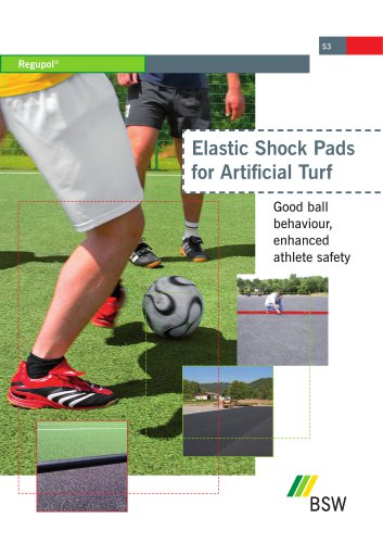 Elastic Shock Pads for Artificial Turf