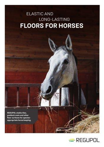 Regupol® Equestrian Flooring