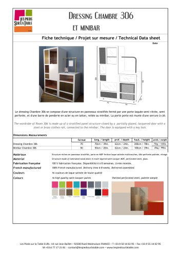 Dressing Chambre 306