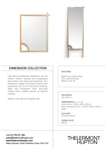 Dimension Collection