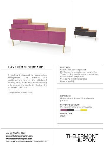 Layered Sideboard