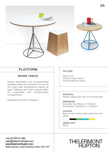 Platform Round Tables