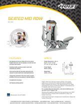 SEATED MID ROW