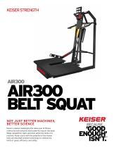 AIR300 BELT SQUAT