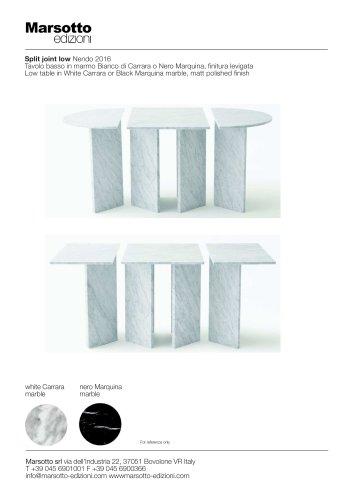 SPLIT LOW TABLE