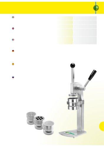 Ice cream press - PGEL