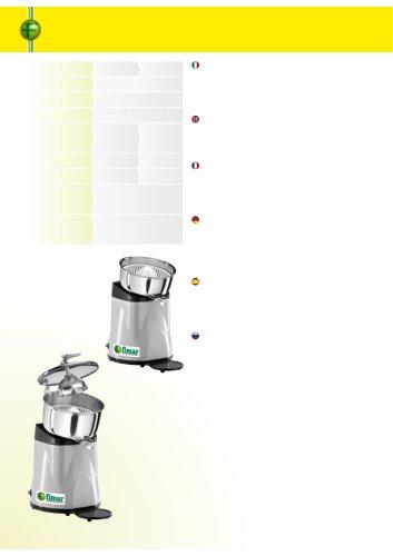 Juice squeezer - SPL
