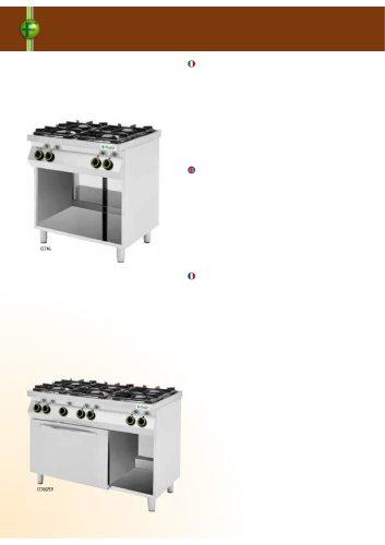 Kitchens ranges - CC74P