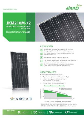Standard Module:JKM210M-72(190W~210W)