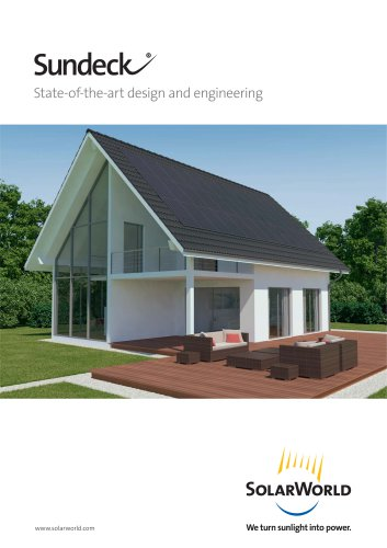 Sundeck State-of-the-art design and engineering