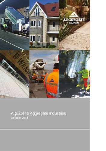 A guide to Aggregate Industries