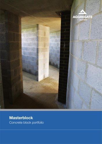 Masterblock: Concrete block portfolio
