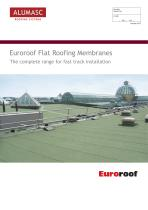 Euroroof Flat Roofing Membranes