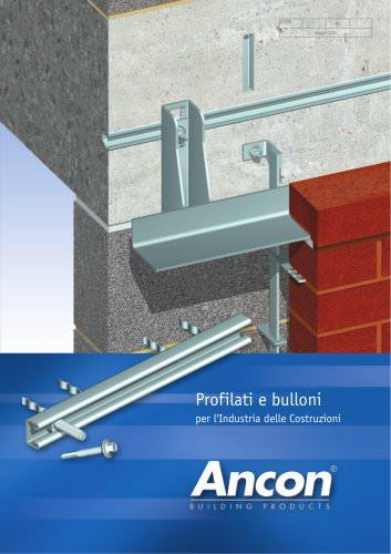 Profilati e bulloni per l'Industria delle Costruzioni